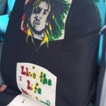 Bob Marley Seat Covers