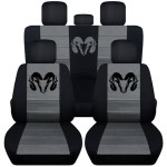Dodge Ram Logo Seat Covers