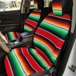 Mexican Blanket Car Seat Covers
