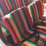 Mexican Blanket Seat Covers