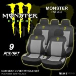 Monster Energy Car Seat Covers