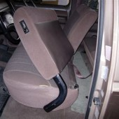Ford F250 Split Bench Seat Covers