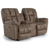 Rocking Reclining Loveseat With Center Console